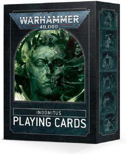 WARHAMMER 40K -  INDOMITUS PLAYING CARDS