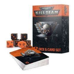 WARHAMMER 40K : KILL TEAM -  DICE & CARD SET