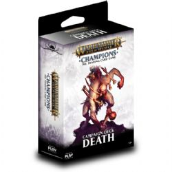 WARHAMMER AGE OF SIGMAR -  CHAMPIONS - DEATH - CAMPAIGN DECK (38 CARDS + PLAYMAT)