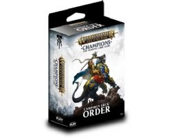 WARHAMMER AGE OF SIGMAR -  CHAMPIONS - ORDER - CAMPAIGN DECK (38 CARDS + PLAYMAT)
