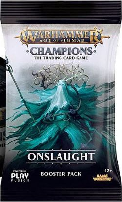 WARHAMMER AGE OF SIGMAR -  ONSLAUGHT - BOOSTER PACK (P13/B24)
