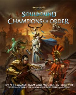 WARHAMMER AGE OF SIGMAR ROLE PLAY -  CHAMPIONS OF ORDER (ENGLISH) -  SOULBOUND