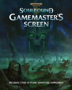WARHAMMER AGE OF SIGMAR ROLE PLAY -  GAME MASTER'S SCREEN (ENGLISH) -  SOULBOUND