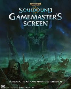 WARHAMMER AGE OF SIGMAR ROLE PLAY -  GAMEMASTER'S SCREEN (ENGLISH) -  SOULBOUND