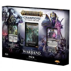 WARHAMMER AGE OF SIGMAR -  WARBAND PACK (3 BOOSTERS + 16 CARDS)