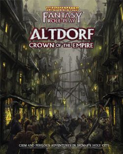 WARHAMMER FANTASY ROLE PLAY -  ALTDORF CROWN OF THE EMPIRE (ENGLISH)