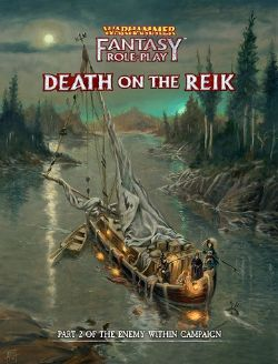 WARHAMMER FANTASY ROLE PLAY -  DEATH ON THE REIK COLLECTOR'S EDITION (ENGLISH)