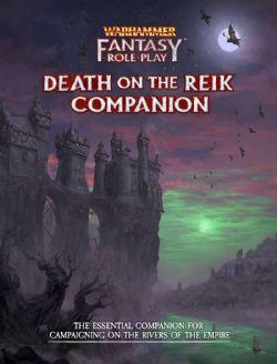 WARHAMMER FANTASY ROLE PLAY -  DEATH ON THE REIK COMPANION (ENGLISH)