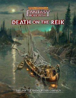 WARHAMMER FANTASY ROLE PLAY -  DEATH ON THE REIK HC (ENGLISH)