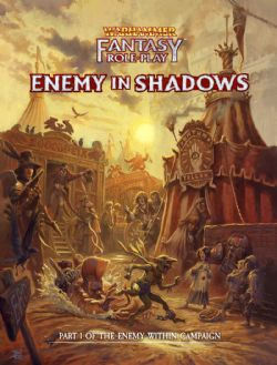 WARHAMMER FANTASY ROLE PLAY -  ENEMY IN SHADOWS (HARD COVER) (ENGLISH)