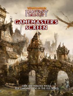 WARHAMMER FANTASY ROLE PLAY -  GAMEMASTER'S SCREEN (ENGLISH)
