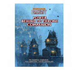 WARHAMMER FANTASY ROLE PLAY -  POWER BEHIND THE THRONE COMPANION (ENGLISH)