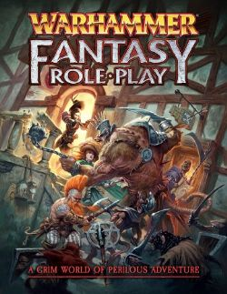 WARHAMMER FANTASY ROLE PLAY -  RULEBOOK - HARD COVER (ENGLISH)
