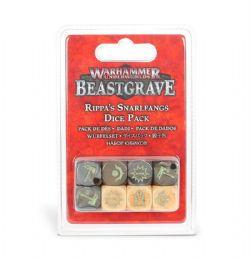 WARHAMMER UNDERWORLDS: BEASTGRAVE -  RIPPA'S SNARLFANGS DICE PACK (ENGLISH)