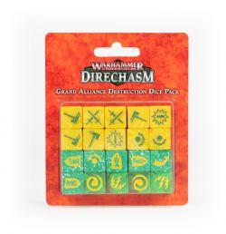 WARHAMMER UNDERWORLDS: DIRECHASM -  GRAND ALLIANCE DESTRUCTION DICE