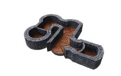 WARLOCK TILES -  ANGLES AND CURVES EXPANSION -  TOWN & VILLAGE III