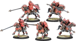 WARMACHINE -  IRON FANG UHLANS - CAVALRY UNITS