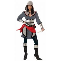 WARRIORS -  STEALTH WARRIOR COSTUME (ADULT - ONE SIZE UP TO 14-16)