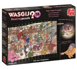 WASGIJ DESTINY -  FAST FOOD FRENZY! (1000 PIECES) 18