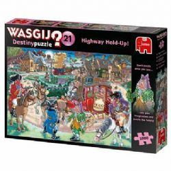 WASGIJ DESTINY -  HIGHWAY HOLD-UP! (1000 PIECES) 21