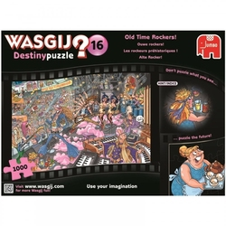 WASGIJ DESTINY -  OLD TIME ROCKERS (1000 PIECES) 16