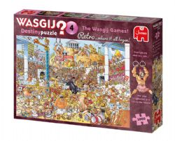 WASGIJ DESTINY RETRO -  THE WASGIJ GAMES! (1000 PIECES) 4