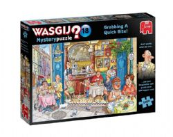 WASGIJ MYSTERY -  GRABBING A QUICK BITE ! (1000 PIECES) 18