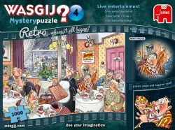 WASGIJ MYSTERY -  LIVE ENTERTAINMENT (1000 PIECES) 4