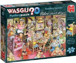 WASGIJ MYSTERY -  SUNDAY LUNCH ! (1000 PIECES) 5