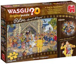 WASGIJ ORIGINAL -  A DAY TO REMEMBER! (1000 PIECES) 4 -  RETRO