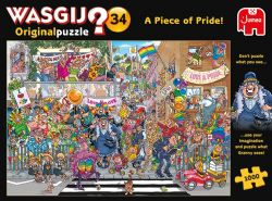 WASGIJ ORIGINAL -  A PIECE OF PRIDE (1000 PIECES) 34