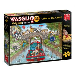 WASGIJ ORIGINAL -  CALM ON THE CANAL (1000 PIECES) 33