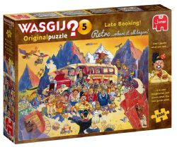 WASGIJ ORIGINAL -  LATE BOOKING ! (1000 PIECES) 5 -  RETRO