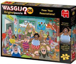 WASGIJ ORIGINAL -  NEW YEAR RESOLUTIONS! (1000 PIECES) 36