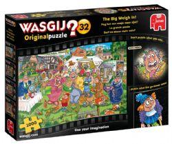 WASGIJ ORIGINAL -  THE BIG WEIGH IN! (1000 PIECES) 32