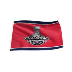 WASHINGTON CAPITALS -  2018 STANLEY CUP CHAMPIONS FLAG (36