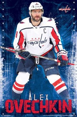 WASHINGTON CAPITALS -  ALEX OVECHKIN #8 POSTER (22