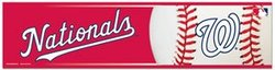 WASHINGTON NATIONALS -  BUMPER STICKER