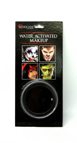 WATER ACTIVATED MAKE-UP -  BLACK - 1 OZ. -  MAKE-UP CAKE