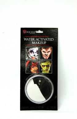 WATER-ACTIVATED MAKE-UP -  BLACK & WHITE - 1 OZ. -  MAKE-UP CAKE