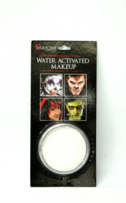 WATER ACTIVATED MAKE-UP -  WHITE - 1 OZ. -  MAKE-UP CAKE