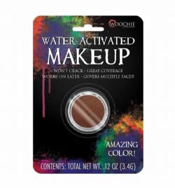WATER-ACTIVATED MAKEUP -  BROWN - .11 OZ -  WOOCHIE
