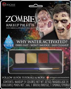 WATER-ACTIVATED MAKEUP -  ZOMBIE MAKEUP PALETTE -  WOOCHIE