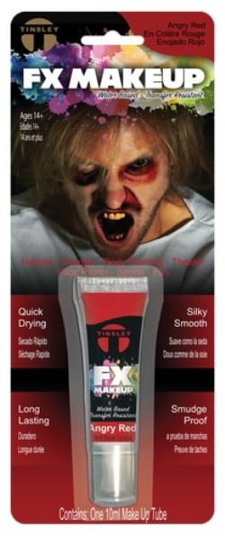WATER-BASED MAKE-UP -  TINSLEY FX - ANGRY RED