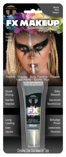 WATER-BASED MAKE-UP -  TINSLEY FX - BLACK