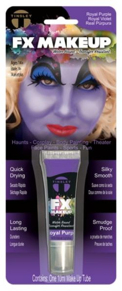 WATER-BASED MAKE-UP -  TINSLEY FX - ROYAL PURPLE