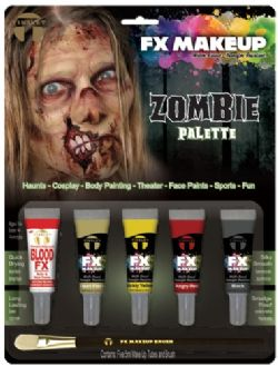 WATER-BASED MAKE-UP -  TINSLEY FX - ZOMBIE KIT