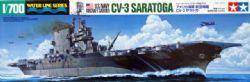 WATER LINE SERIES -  CV-3 SARATOGA 1/700