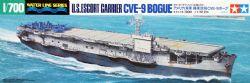 WATER LINE SERIES -  U.S.ESCORT CARRIER CVE-9 BOGUE 1/700