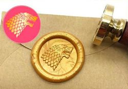 WAX SEAL STAMP -  STARK STAMP